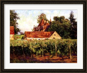 Framed Chateux at Buxy