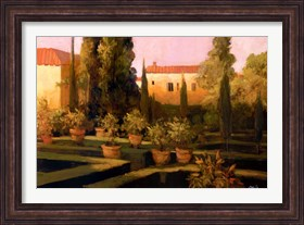 Framed Verona Garden