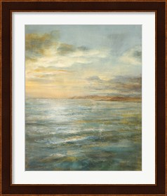 Framed Serene Sea III