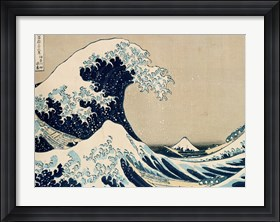 Framed Great Wave of Kanagawa