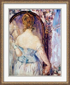 Framed Woman Before a Mirror
