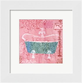 Framed Decorative Tub