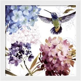Framed Spring Nectar Square III