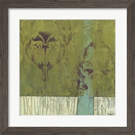 Framed Distressed Abstraction I