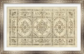 Framed Ornamental Ceiling Design