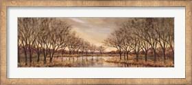 Framed Twilight on the River