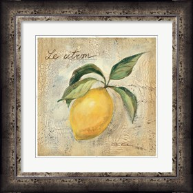 Framed Le Citron