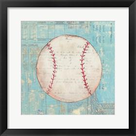 Framed Play Ball I