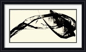 Framed Silk Ink V