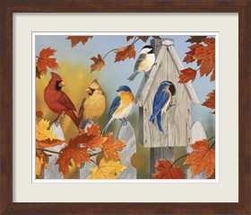 Framed Fall Gathering