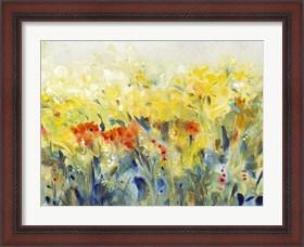 Framed Flowers Sway II