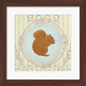 Framed Forest Cameo I