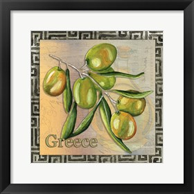 Framed Olive Oil 4