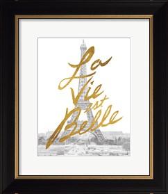 Framed Gilded Paris