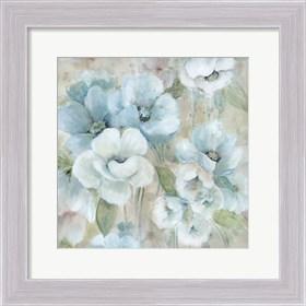 Framed Pastel Garden II