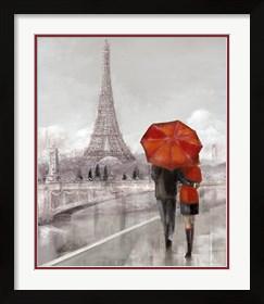 Framed Modern Couple in Paris