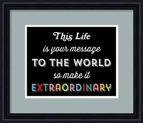Framed Make it Extraordinary