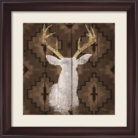 Framed Precious Antlers I