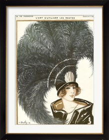 Framed Lavie Parisienne Featherhat