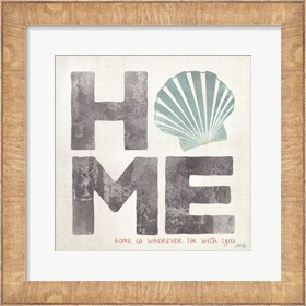 Framed Home Scallop