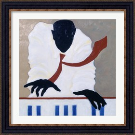 Framed Untitled (Piano Player)