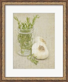 Framed Herb Still Life II