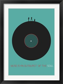 Framed Music Is An Outburst Of The Soul