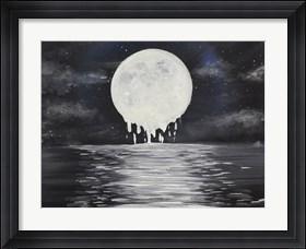 Framed Melty moon