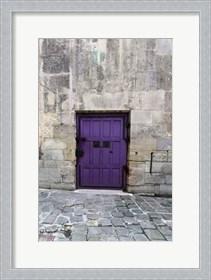 Framed Cloony Purple 2