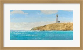 Framed Lighthouse Seascape II