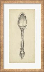 Framed Ornate Cutlery II