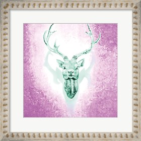 Framed Mosaic Deer