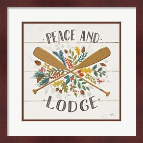 Framed Peace and Lodge IV