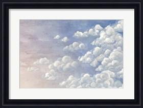 Framed Gradient Sky I