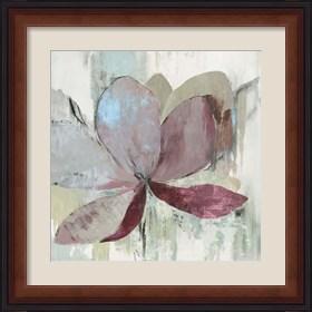 Framed Drippy Floral I