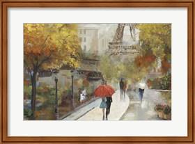 Framed Parisian Avenue