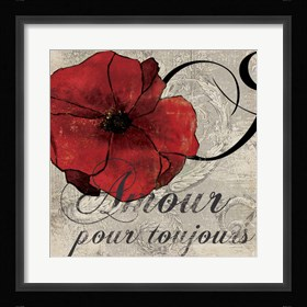 Framed Amour Toujours