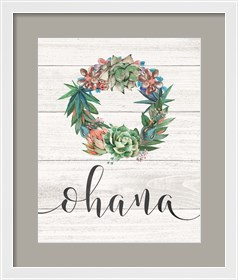 Framed Ohana