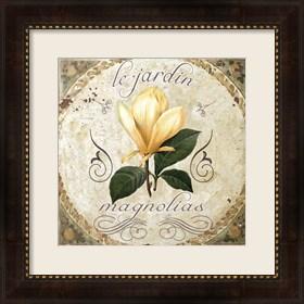 Framed Le Jardin III