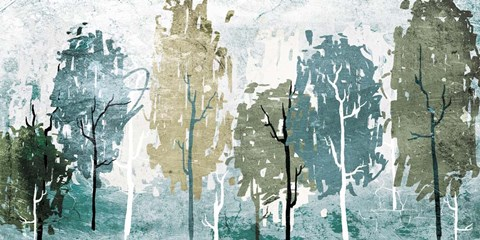 Abstract Forest Artwork