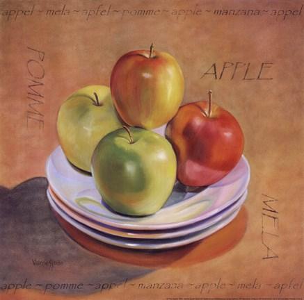 four apples artwork by valerie sjodin at framedart com