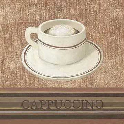 Framed Capuchino Cup Print