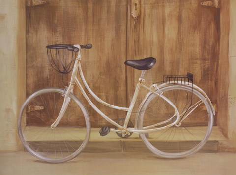Framed Bicycle 1 Print