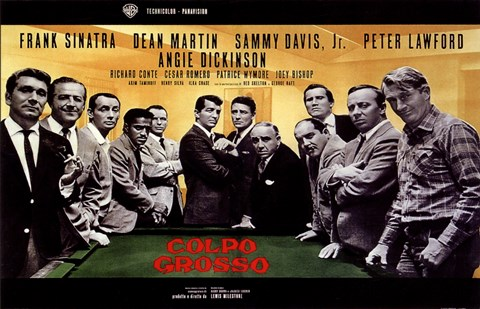 Oceans 11 Colpo Grosso Pool Table Poster By Unknown At Framedartcom