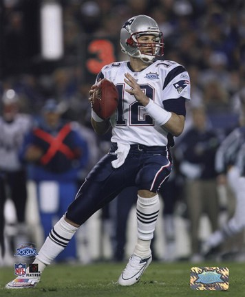 Tom Brady  Super Bowl XXXIX  passing in first quarter