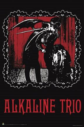 Alkaline Trio Poster By Unknown At Framedart Com