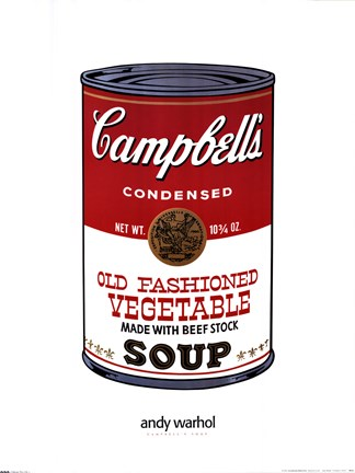 Framed Campbell's Soup Print