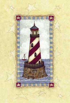 Framed Lighthouses III Print