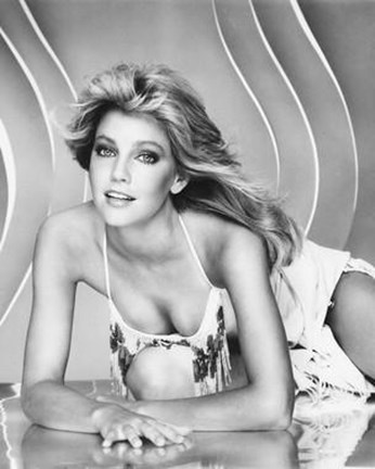 Framed Heather Locklear Print