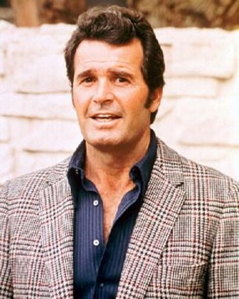 Framed James Garner Print
